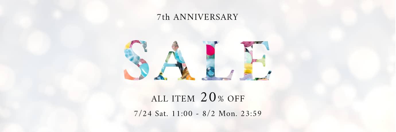 Y-bijou 7周年記念セール